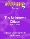The Unknown Citizen: Shmoop Poetry Guide - Shmoop