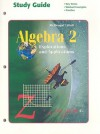 Algebra 2: Explorations and Applications - McDougal Littell