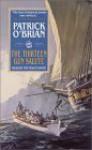 The Thirteen-Gun Salute (Aubrey/Maturin Book 13) - Patrick O'Brian