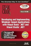 McAd Developing and Implementing Windows-Based Applications with Microsoft Visual Basic (R) .Net and Microsoft Visual Studio (R) .Net Exam Cram 2 (Exam - Kirk Hausman, Ed Tittel