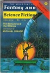 The Magazine of Fantasy and Science Fiction, February 1976 - Edward L. Ferman, Isaac Asimov, Michael Bishop