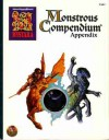 Monstrous Compendium Appendix: Mystara, Vol. 19 (Advanced Dungeons and Dragons, 2nd Edition Series, MC19) - John Nephew, John Terra, Teeuwynn Woodruff, Skip Williams