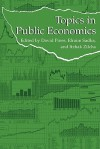 Topics in Public Economics: Theoretical and Applied Analysis - David Pines, Efraim Sadka, Itzhak Zilcha
