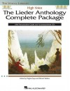 The Lieder Anthology Complete Package - High Voice: Book/Pronunciation Guide/Accompaniment CDs (The Vocal Library) - Hal Leonard Publishing Company, Richard Walters, Virginia Saya