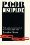 Poor Discipline - Jonathan Simon