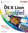 Mac OS X Lion Simplified - Paul McFedries