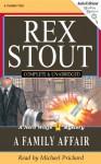 A Family Affair (Audio) - Rex Stout