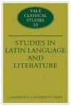 Studies in Latin Language and Literature - Thomas Cole, David Ross