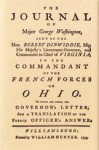 Journal of Major George Washington - George Washington, James R. Short, Thaddeus W. Tate Jr.
