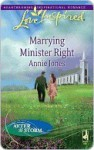 Marrying Minister Right (Love Inspired) - Annie Jones