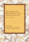 The Origins and Development of the English Language - John Algeo, Carmen A. Butcher