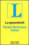 Pocket Italian-Eng/Eng-Italian - Langenscheidt