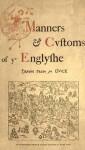 Manners & Customs Of Ye Englyshe - Richard Doyle