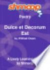 Dulce et Decorum Est: Shmoop Poetry Guide (nookbook ) - Shmoop