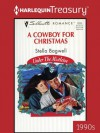 A Cowboy for Christmas (Under the Mistletoe) - Stella Bagwell