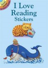 Stickers: I Love Reading Stickers - NOT A BOOK
