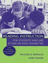Reading Instruction for Students Who Are at Risk or Have Disabilities - William D. Bursuck