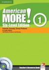 American More! Six-Level Edition Level 1 Teacher's Resource Book with Testbuilder CD-ROM/Audio CD - Hannah Cassidy, Cheryl Pelteret, Julie Penn, Herbert Puchta, Jeff Stranks