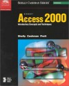 Microsoft Access 2000: Introductory Concepts and Techniques - Gary B. Shelly, Thomas J. Cashman, Philip J. Pratt