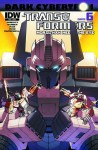 Transformers Dark Cybertron #6-More Than Meets the Eye #25 - John Barber, James Roberts