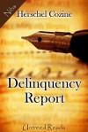 Delinquency Report - Herschel Cozine
