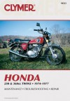Clymer Honda 250 & 360CC Twins, 1974-1977: Service, Repair, Performance - Ed Scott, Eric Jorgensen
