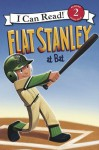 Flat Stanley at Bat: I Can Read Level 2 (I Can Read Book 2) - Jeff Brown, Macky Pamintuan