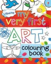 My Very First Art Colouring Book - Rosie Dickins