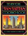 The New York Manhattan Coloring Book - David Byrd, Paul Goldberger