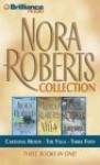 Omnibus: Carolina Moon / The Villa / Three Fates - Laural Merlington, Dean Robertson, Bernadette Quigley, Nora Roberts