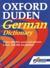 Oxford Duden German Dictionary CD-ROM - Oxford University Press