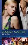 Not For Sale (Mills & Boon Modern) - Sandra Marton