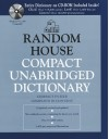 Random House Compact Unabridged Dictionary - Dictionary