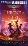 The Throne of Fire (The Kane Chronicles, Book 2) - Rick Riordan, Kevin R. Free, Katherine Kellgren