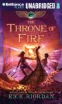 The Throne of Fire (The Kane Chronicles, Book 2) - Rick Riordan, Kevin R. Free, Katherine Kellgren