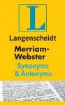 Merriam-Webster Synonyms & Antonyms - Langenscheidt