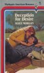 Deception for Desi - Alice Morgan