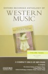 Oxford Recorded Anthology of Western Music, Volume 3: The Twentieth Century - Richard Taruskin, Christopher H Gibbs