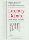 Literary Debate: Texts and Contexts: Postwar French Thought - Denis Hollier, Arthur Goldhammer, Denis Hollier, Jeffrey Mehlman