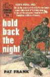 Hold Back The Night - Pat Frank