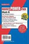Regents Power Pack-Math B - Lawrence Leff, David Bock