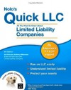 Nolo's Quick LLC: All You Need to Know About Limited Liability Companies - Anthony Mancuso