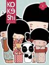 Kokeshi Notecards - Annelore Parot