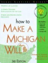 How to Make a Michigan Will - Edward A. Haman