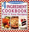 Favorite Brand Name 4 Ingredient Cookbook - Publications International Ltd.