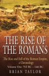 The Rise of the Romans: The Rise and Fall of the Roman Empire, a Chronolgy: Volume One 753 BC�146 BC - Brian Taylor