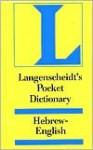 Langenscheidt's Pocket Dictionary Hebrew - Langenscheidt
