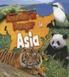 Animals in Danger in Asia - Richard Spilsbury, Louise Spilsbury, Michael Bright