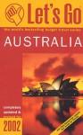 Let's Go Australia 2002 - Let's Go Inc.