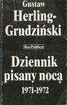 Dziennik pisany nocą 1971-1972 - Gustaw Herling-Grudziński